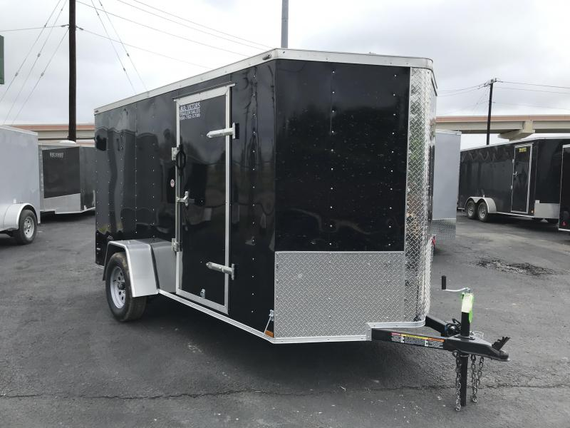 2019 Lark 6 X 12 SA Enclosed Cargo Trailer