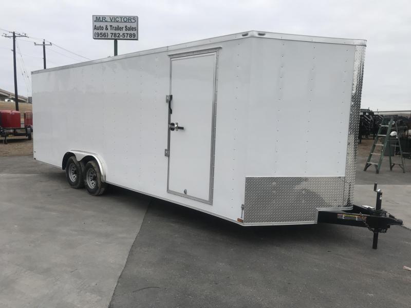 2020 Lark 8.5X24 Enclosed Cargo Trailer