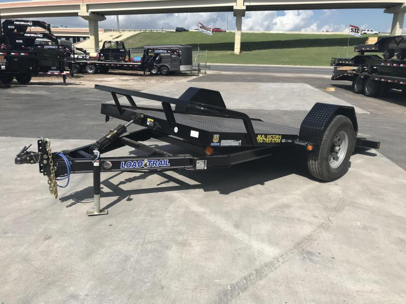 2020 Load Trail 77 x 12 Scissor Hauler Equipment Trailer