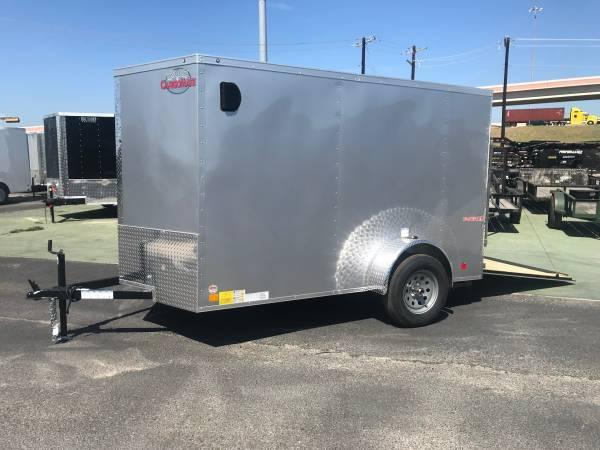 2020 Cargo Mate 6 X 10 SA Enclosed Cargo Trailer