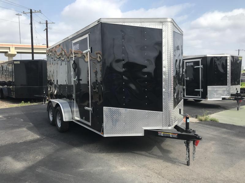 2019 Lark 7 X 14 Enclosed Cargo Trailer