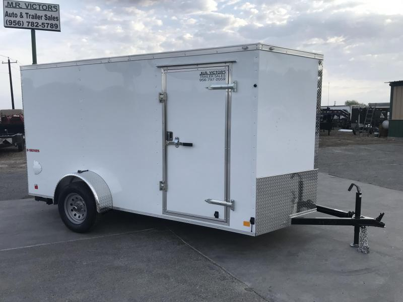 2020 Cargo Mate 6x12 Enclosed Cargo Trailer