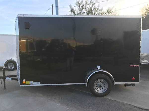 2020 Cargo Mate 6 X 12 SA Enclosed Cargo Trailer