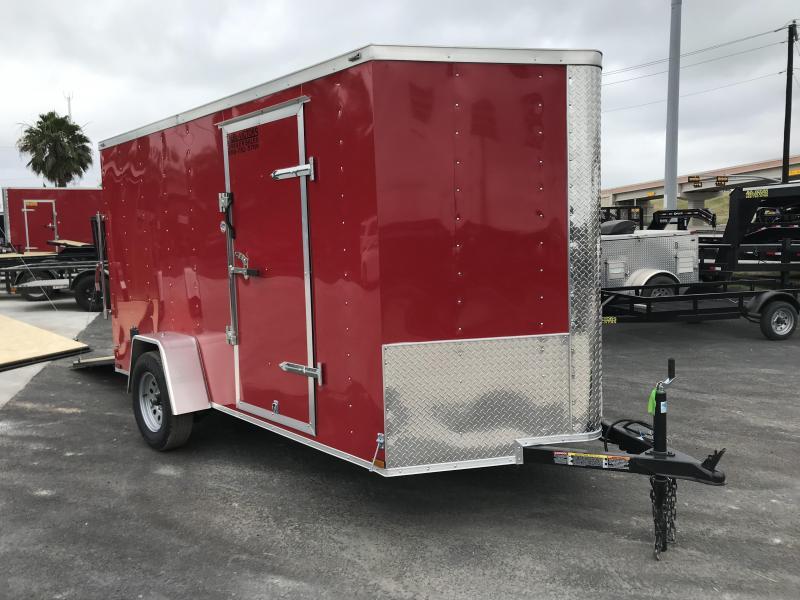 2020 Lark 6 X 12 SA Enclosed Cargo Trailer