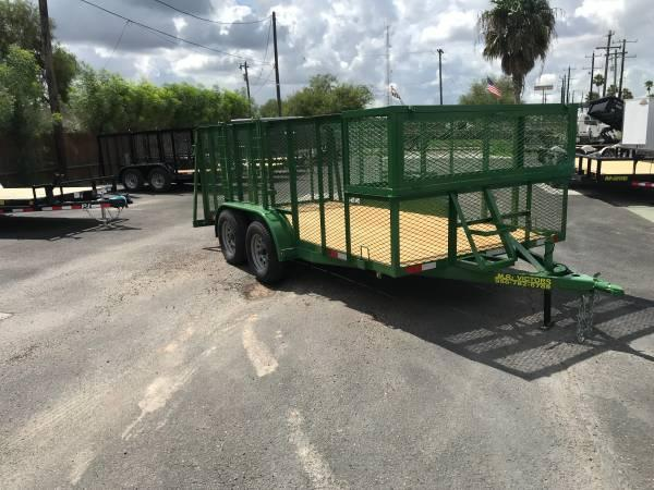 2019 Mr Victors 83 x 14 Landscape Trailer
