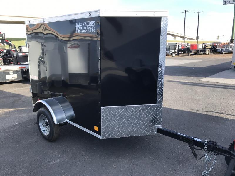 2020 Cargo Mate 4 x 6 Enclosed Cargo Trailer