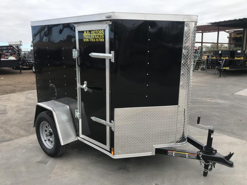 2020 Lark 5x6 Enclosed Cargo Trailer