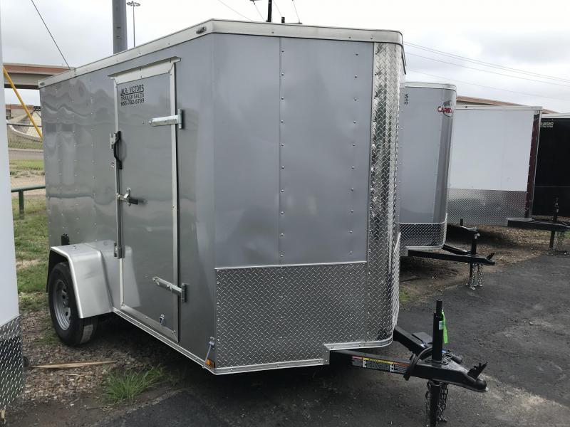 2020 Lark 6 X 10 SA Enclosed Cargo Trailer