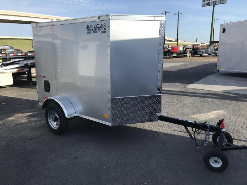2020 Cargo Mate 4 x 6 Enclosed Cargo Trailer