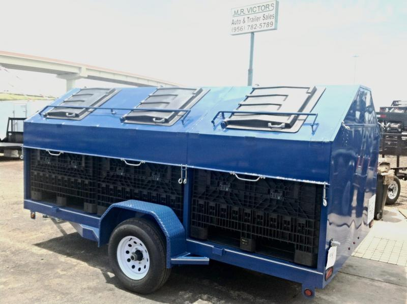 2019 Mr Victors 83X12 CUSTOM RECYCLING Utility Trailer