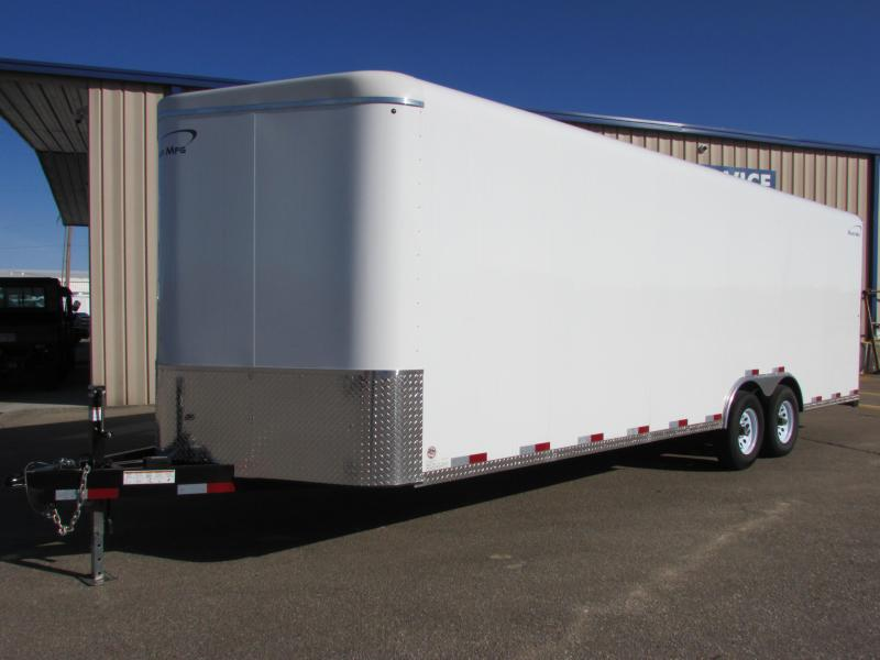 2019 Sharp 101 X 24 CAR CARRIER Enclosed Cargo Trailer
