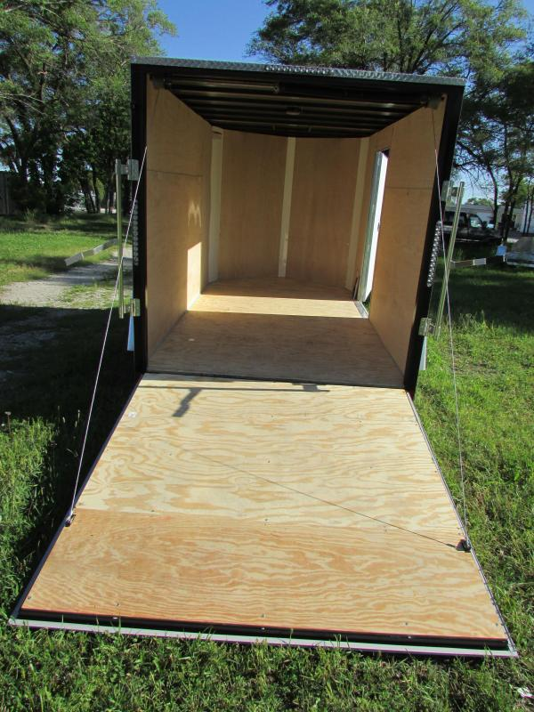 2019 Sharp 6X10 S.E.L. Enclosed Cargo Trailer