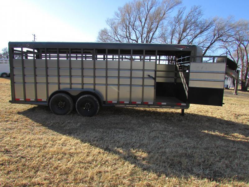 2018 Travalong Advantage 20ft Livestock Trailer