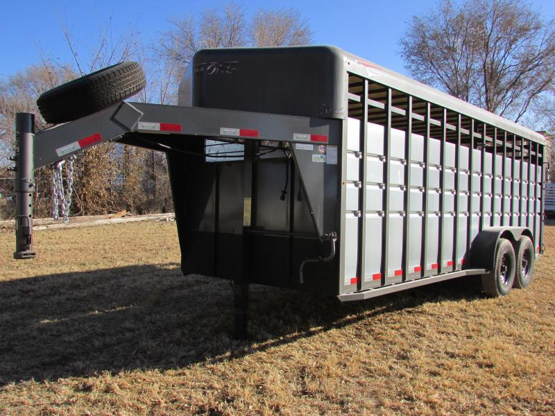 2018 Travalong Advantage 20ft Livestock Trailer