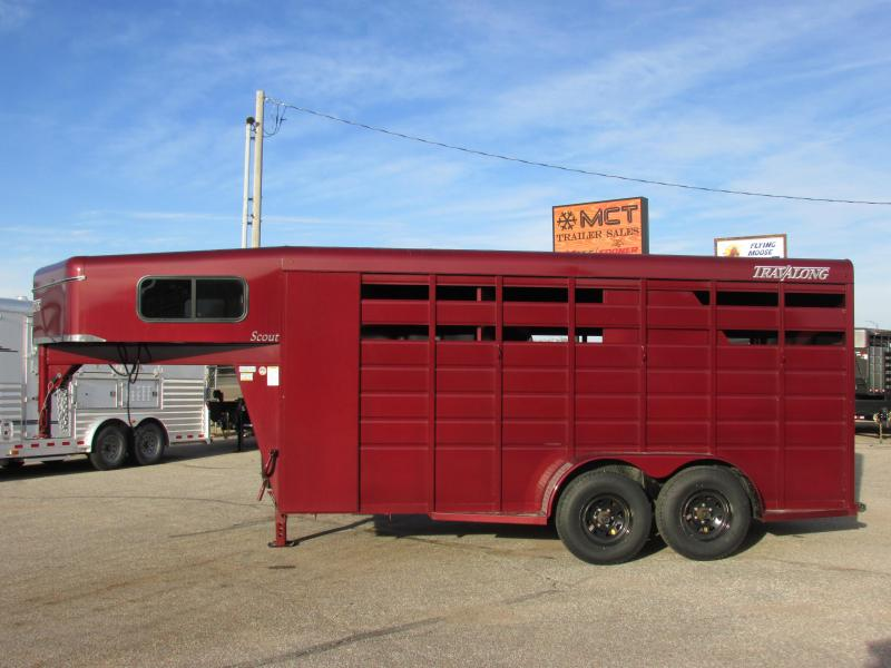 2019 Travalong 3H GN SCOUT HORSE TRAILER Horse Trailer