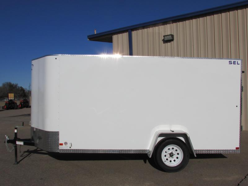 2019 Sharp S.E.L. 6 X 12 Enclosed Cargo Trailer