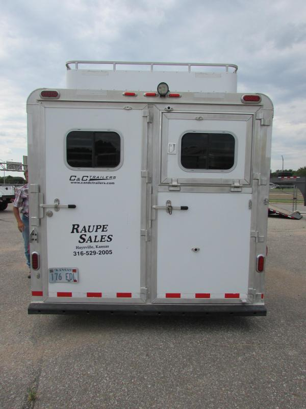 2009 C and C Trailers 4H GN LQ Horse Trailer