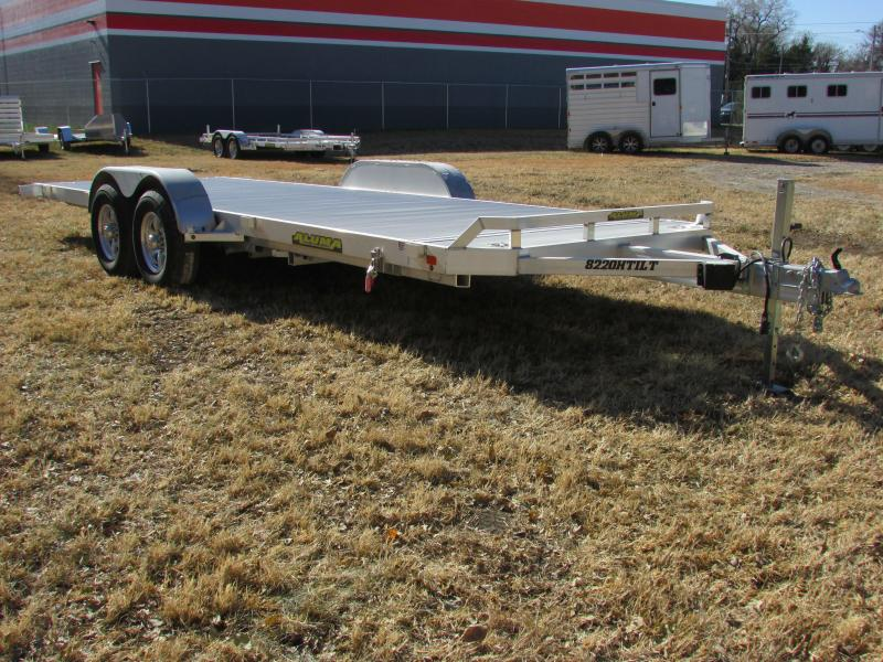 2020 Aluma 8220H TILT Car / Racing Trailer