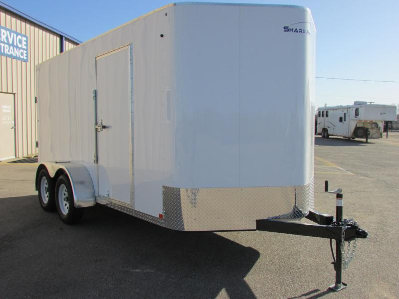 2019 Sharp S.E.L. 7X14 TANDEM Enclosed Cargo Trailer