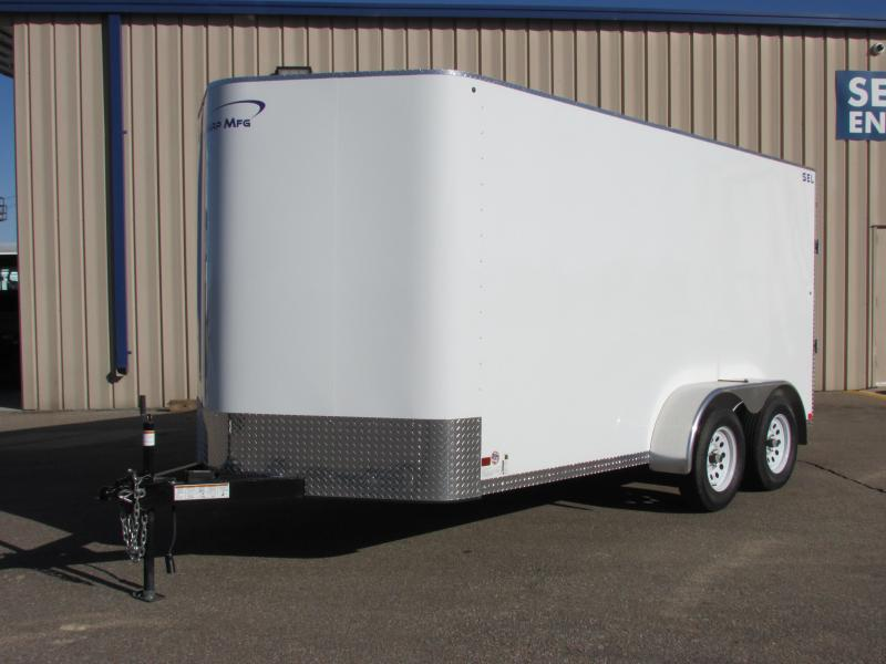 2019 Sharp S.E.L. 7X14 TANDEM Enclosed Cargo Trailer