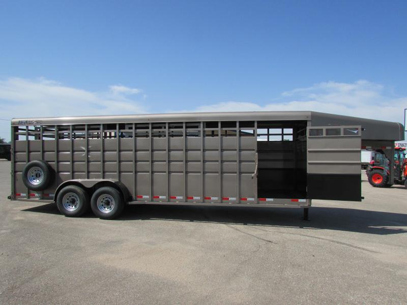 2018 Travalong 24ft GN STOCK Livestock Trailer