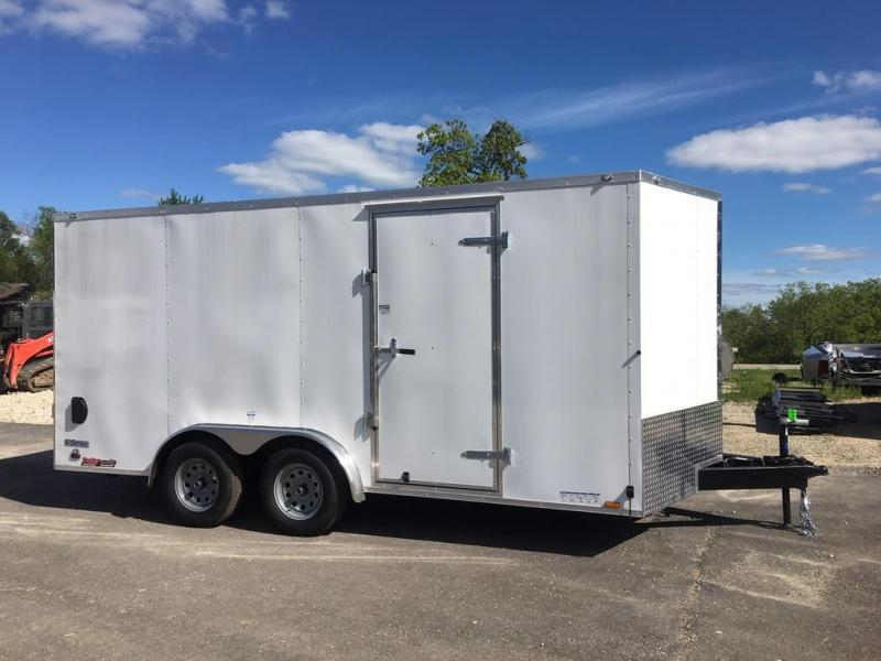 2020 Continental Cargo VHW8x16TA2 Enclosed Cargo Trailer