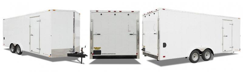 2019 Continental Cargo VHW8.5x20 TA2 Enclosed Cargo Trailer