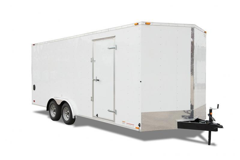 2020 Continental Cargo VHW8.5x20 TA2 Enclosed Cargo Trailer