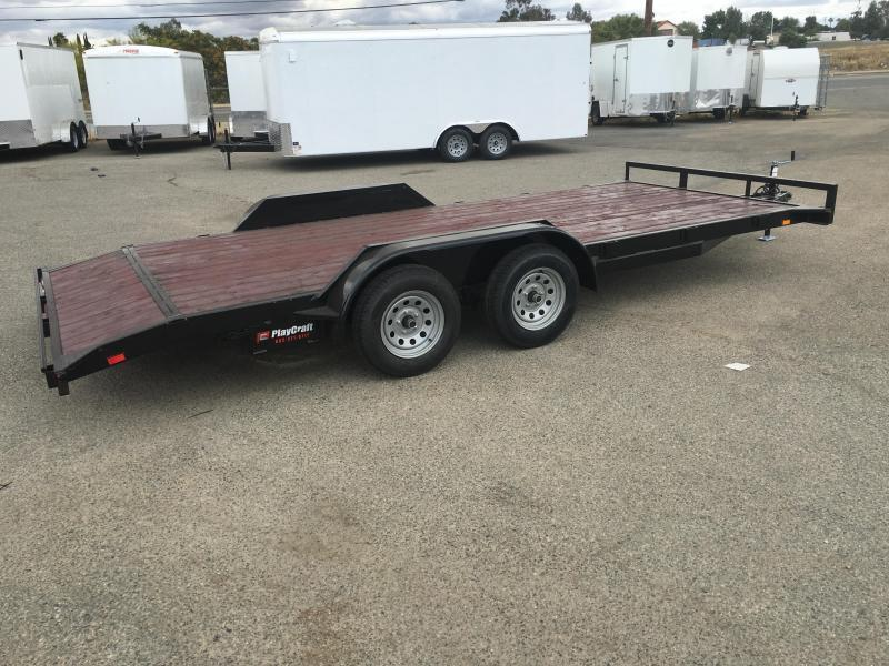 2019 Playraft 82x18 Champion Car Hauler