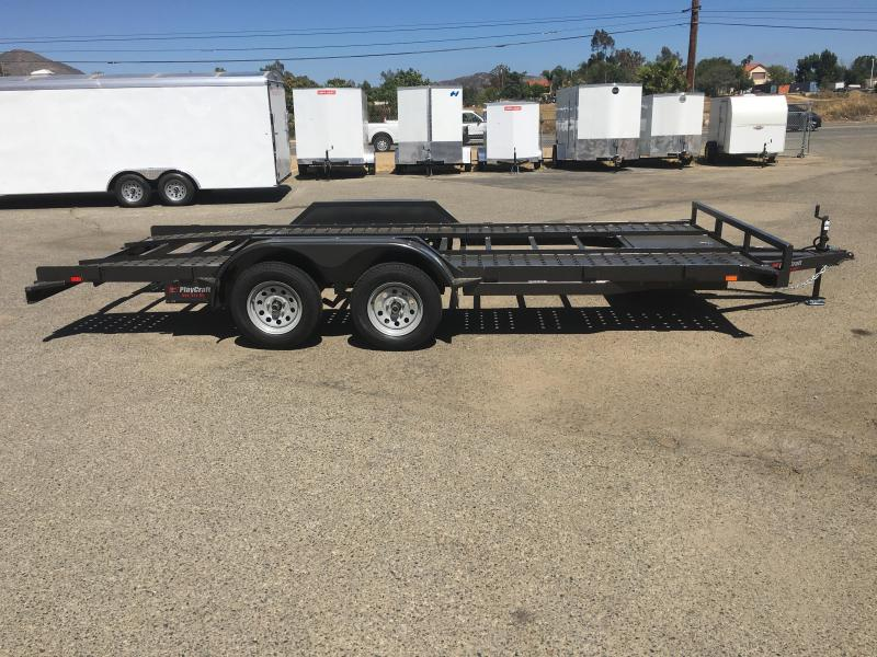2019 PlayCraft California MD 82X18 Car / Racing Trailer