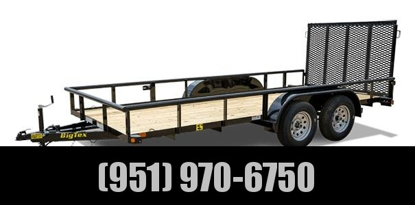 2020 Big Tex Trailers 45ES-16 Utility Trailer