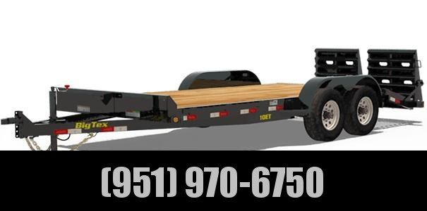 2020 Big Tex Trailers 10ET-18 Equipment Trailer
