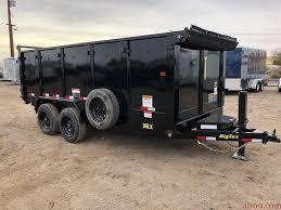 2019 Big Tex Trailers 16LX-16 Dump Trailer