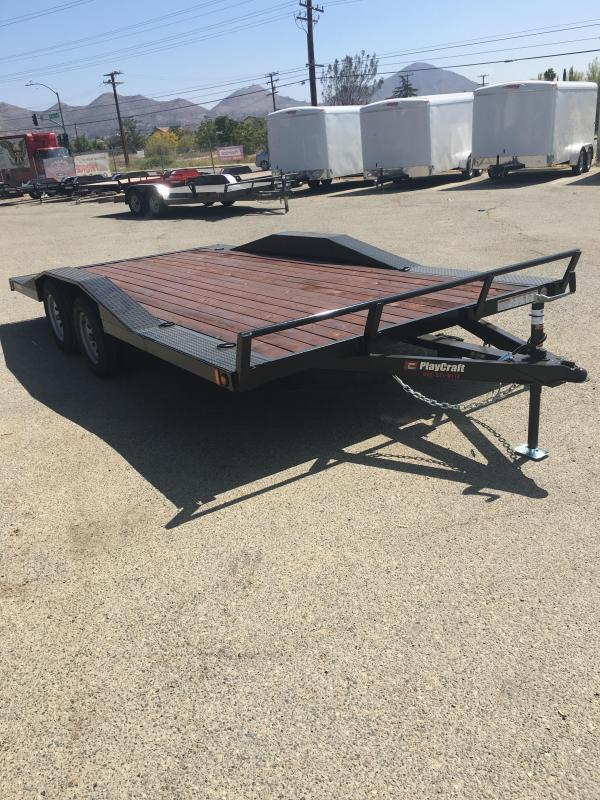 2020 Playcraft MD-24 Drive Over Car / Racing Trailer
