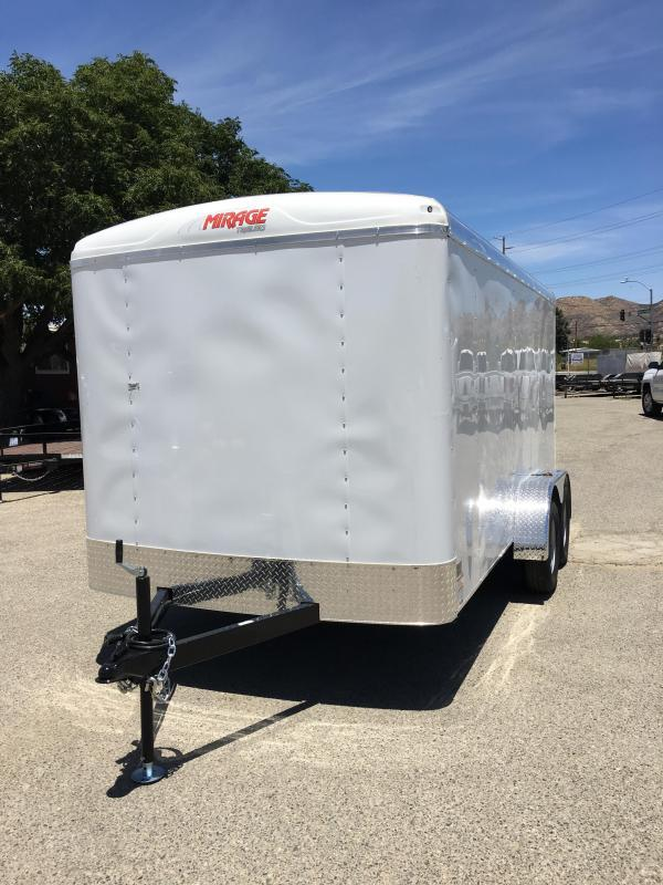 2019 Mirage Trailers 7x16 Enclosed Cargo Trailer