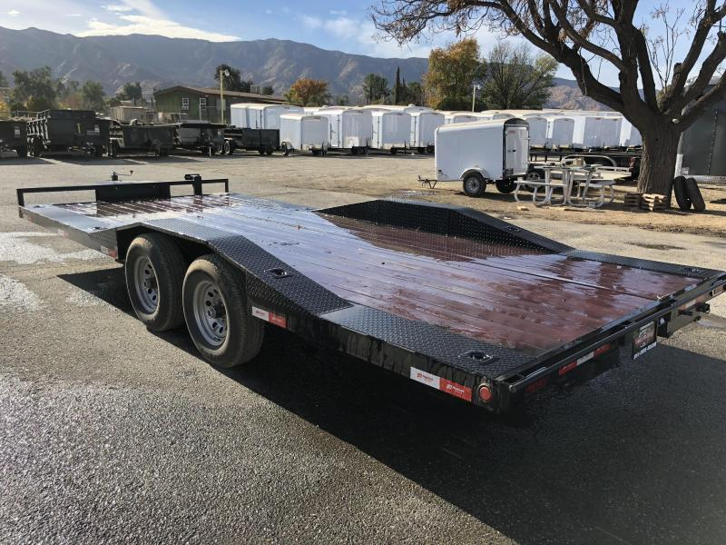 2020 Playcraft MD 20 Car / Racing Trailer Drive Over Fender