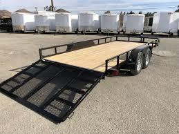 2018 Mirage 7X16 UTILITY TRAILER BRAKES ON BOTH AXLES