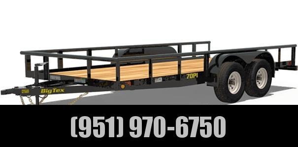 2020 Big Tex Trailers 70PI-14X Utility Trailer