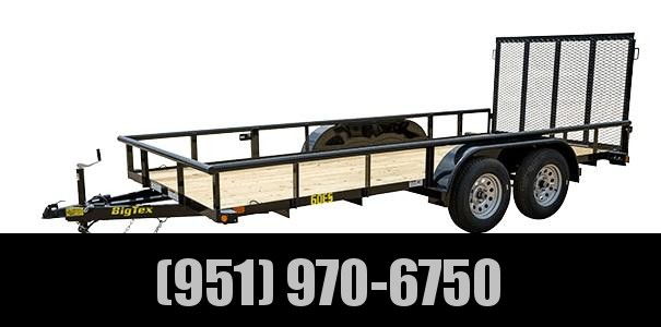 2020 Big Tex Trailers 60ES-16 Utility Trailer