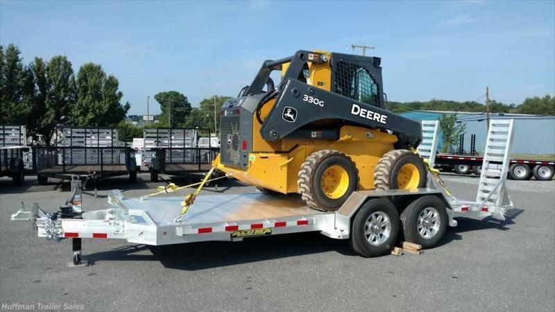 2019 Aluma TR 8218 14000 GVWR Equipment Trailer