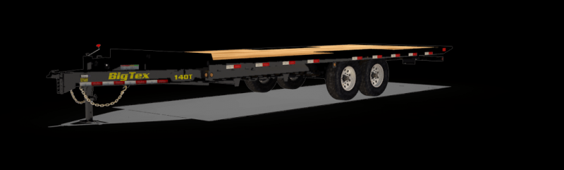 2019 Big Tex 14OT-22 DECK OVER TILT  Equipment Trailer