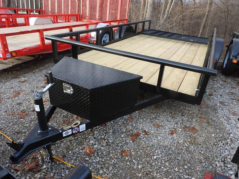 2020 Carry-On 6x14GWPTLEDNT Utility Trailer