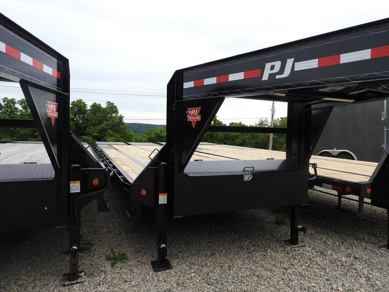 2020 PJ LS 102 x 30 Equipment Trailer w/ Monster Ramps