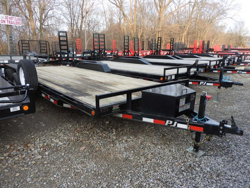 2019 PJ Trailers CE 20 Equipment Trailer