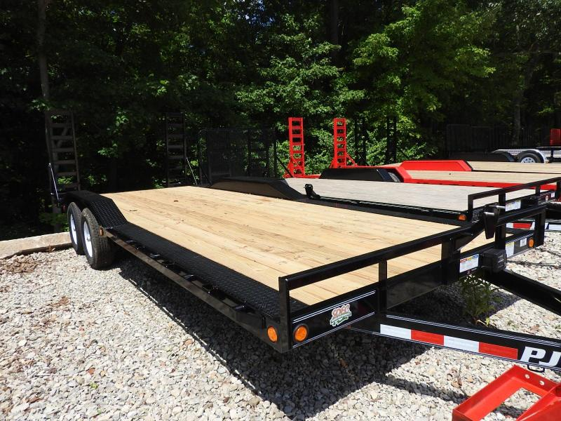 2020 PJ B5 22' x 102 Equipment Trailer