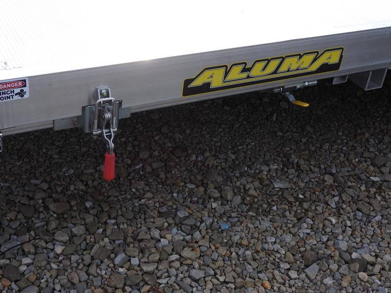 2021 Aluma 82X18 HTilt 9900 GVWR