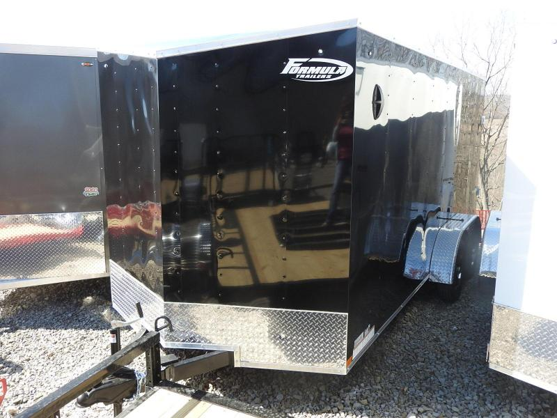 "2021 Formula Traverse 7 x 16 w/ 6"" Extra Height Enclosed Cargo Trailer"