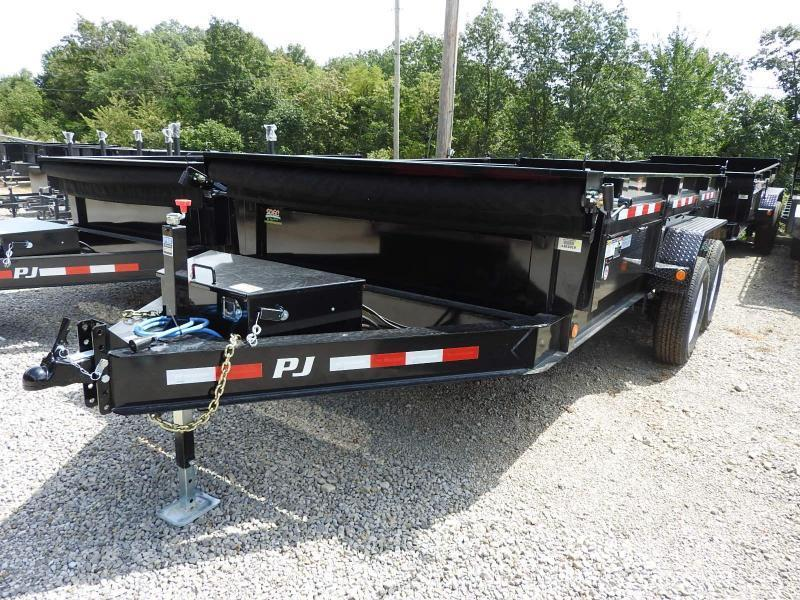 2020 PJ DL 83x16 Low Profile Dump