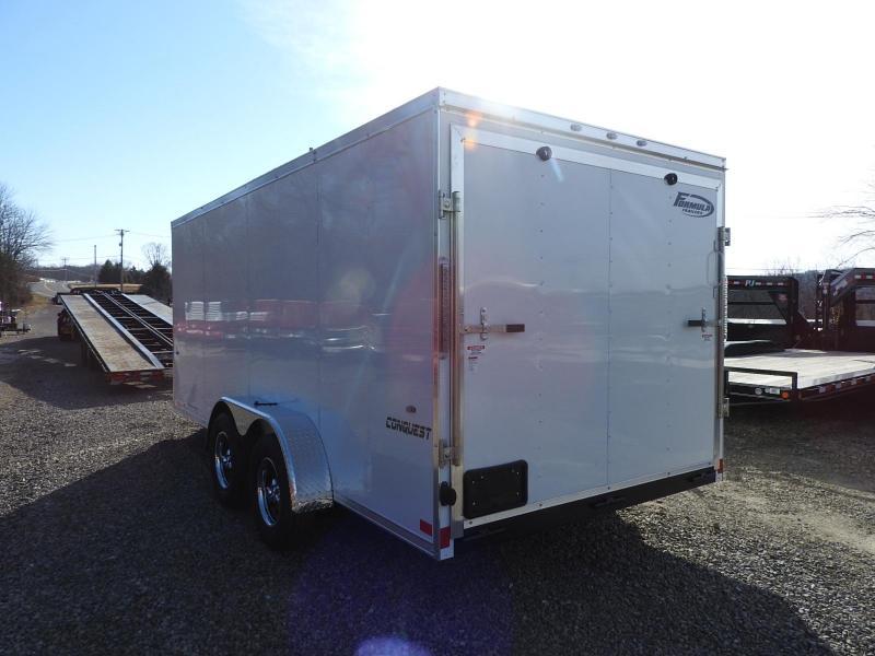 2020 Formula Trailers Conquest 7 x 16 Enclosed Cargo Trailer