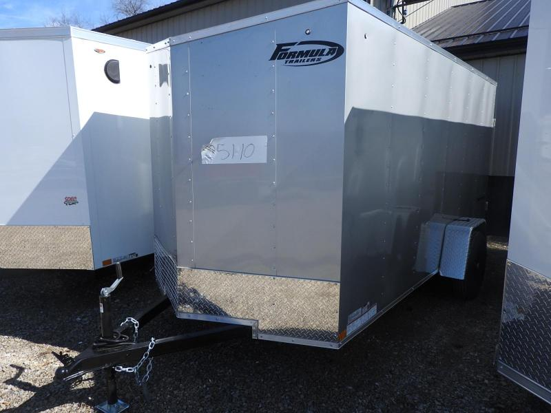 2021 Formula Traverse 6x12 Enclosed Cargo Trailer